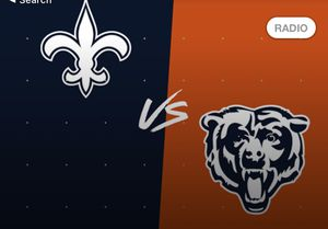2 Bears Vs Saints 100 level tickets!!!! for Sale in Chicago, IL