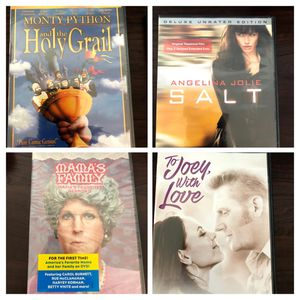 4 dvd movies for Sale in Temecula, CA