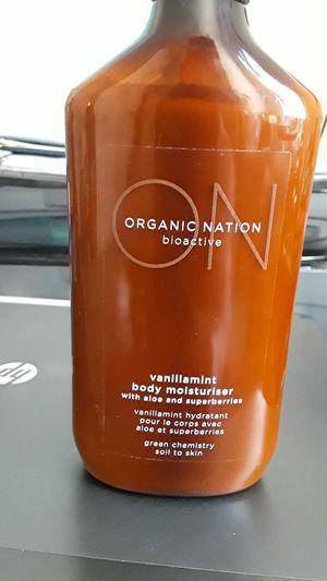 Organic Nation Vanilliamint Body Moisturiser for Sale in Detroit, MI