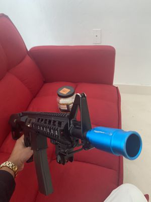 Airsoft aeg nerf toy gun electric powerful combat machine g&g raider for Sale in Miami, FL