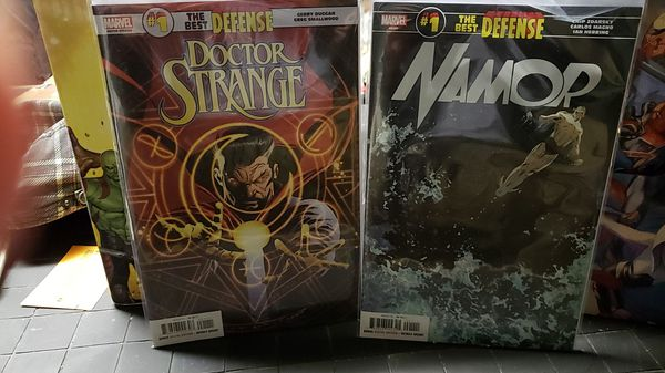 Dr Strange And Namor #1 The best defense
