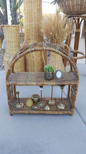 Rattan Shelf for Sale in Queen Creek, AZ