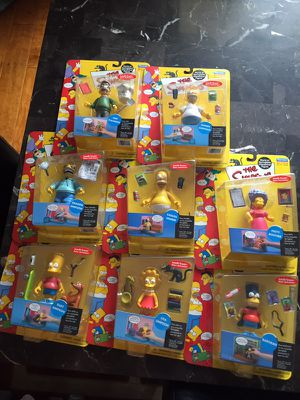 Simpsons Action figure lot for Sale in Annapolis, MD