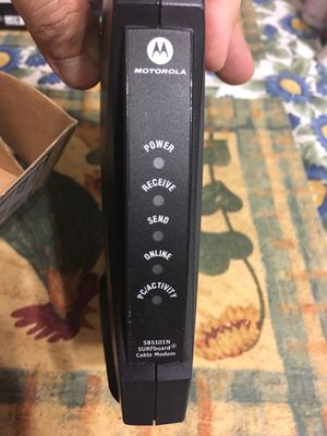 motorola sb5101n surfboard for Sale in Phoenix, AZ