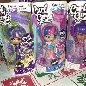 Curli Girl Dolls for Sale in Haddon Heights, NJ