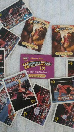 Wrestling cards WWF for Sale in Hemet, CA