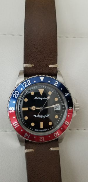 NEW CONDITION TISSOT VINTAGE PEPSI AUTOMATIC WATCH for Sale in Fresno, CA