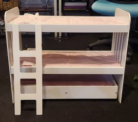 Doll bunk bed with trundle for Sale in Arnold,  MO