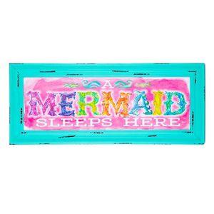 Mermaid wood wall decor for Sale in Lodi, CA