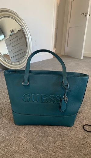 Guess Teal Tote Bag for Sale in Phoenix, AZ