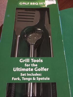Grill tools for golfer for Sale in Howell, NJ