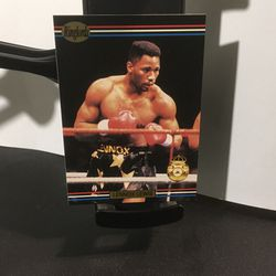 1991 Ringlords Boxing Card #40 Lennox Lewis for Sale in Bellwood,  IL