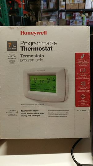 Honeywell programmable Thermostat RTH7600D for Sale in City of Industry, CA