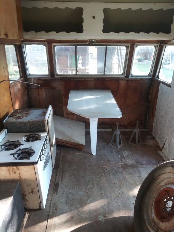 Vintage 1955 shasta camper