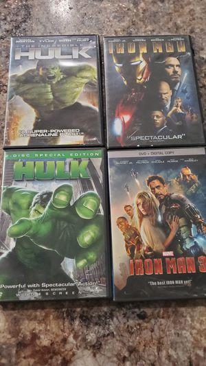Super hero dvds for Sale in Port St. Lucie, FL