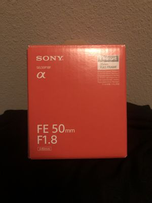 Sony FE 50mm F1.8 Lense for Sale in San Dimas, CA
