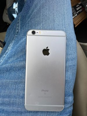 iPhone 6 s plus was originally black but got fixed with a white screen for Sale in Chula Vista, CA