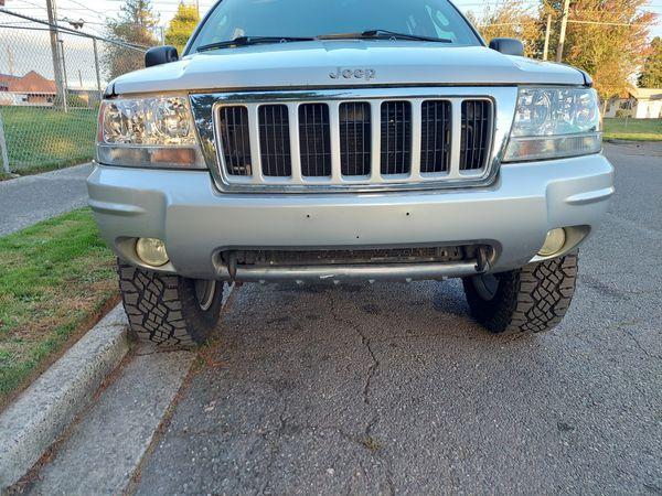 Jeep grand cherokee bumper complete