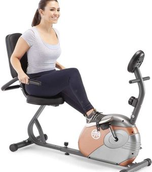 Marcy Recumbent Exercise Bike with Resistance ME-709 for Sale in Pickerington, OH