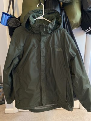North Face rain jacket for Sale in Fairfax, VA