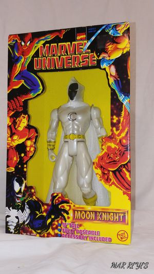 """MOON KNIGHT"" MARVEL UNIVERSE 10 inch figure By Toy Biz for Sale in Queens, NY"