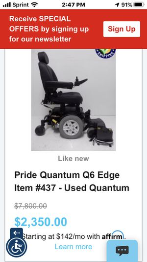Quantum wheelchair and hitch hauler for Sale in Northville, MI