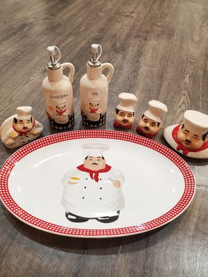 Chef themed kitchen set for Sale in Lacey, WA