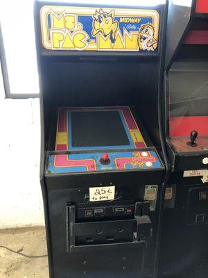 Mrs pac man & net geo arcade games for Sale in Palmer, TX