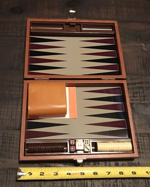 Backgammon Game Travel Size for Sale in Port St. Lucie, FL
