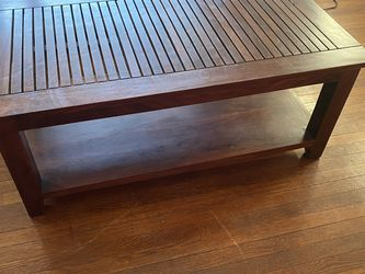 Wooden Coffee Table for Sale in Midland Park,  NJ
