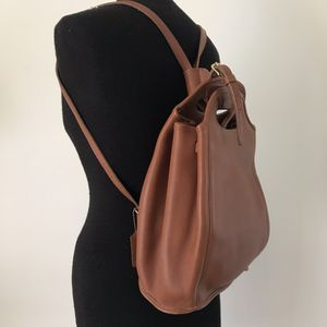 Vintage Coach J6D-9994 Brown Leather Backpack for Sale in Fort Worth, TX