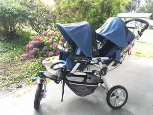 Jane Double Jogging Stroller for Sale in Federal Way, WA