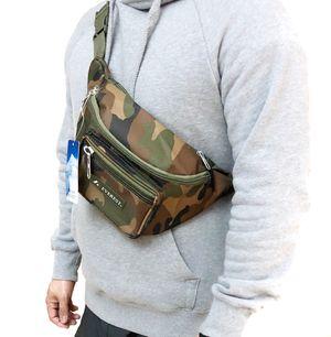 NEW! Large Camouflage shoulder / Waist Pack not supreme Waist bag Shoulder bag travel bag fanny pack Concert festival side bag sling bag pouch for Sale in Carson, CA