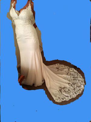 Size 10 wedding dress for Sale in Wichita, KS