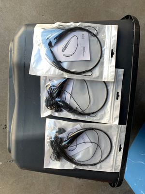 3 pack Bluetooth Stereo Headset Universal for Sale in Houston, TX