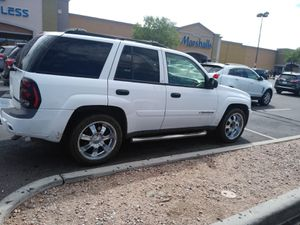 2002Chevy trail blazer straight6, good AC,tires,clean tittle for Sale in Tucson, AZ