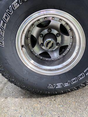 15x10 wheels 6x5.5 35x12.5r15 for Sale in Lynnwood, WA