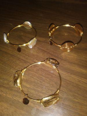 Set of 3 wire bracelets for Sale in Wichita, KS