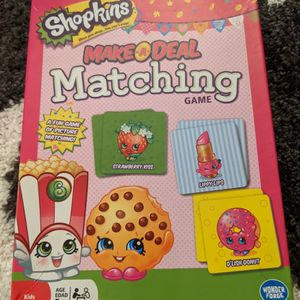 Shopkins Matching Memory Game for Sale in Mountain View, CA