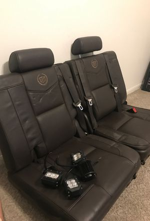 Escalede/taho 3rd row seats for Sale in Porter, TX