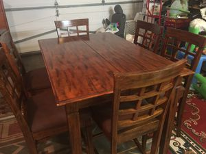 Dining table and 6 chairs for Sale in Everett, WA