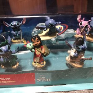 Original Disney Lilo & Stitch Figurine Play set for Sale in Vernon, CA