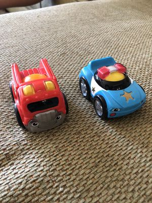 Fisher Price roll n race cars for Sale in Walnut, CA