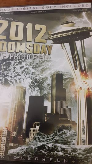 2012 doomsday the prophecy is true dvd for Sale in Grand Saline, TX