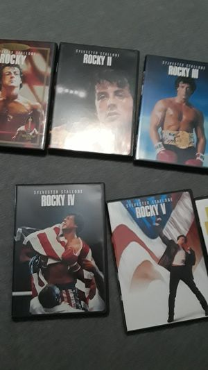 Rocky collection box set DVD for Sale in Hollywood, FL