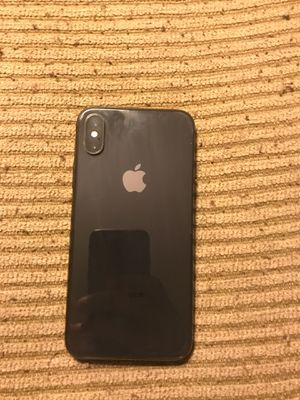 iPhone X 264 Gb black for Sale in Lakewood, CO