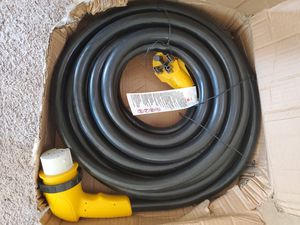 """EPICORD RV POWER CORD 50 AMP MALE TO FEMALE 50"""" w/ 90° angel exrv5-50g for Sale in Palmdale, CA"""