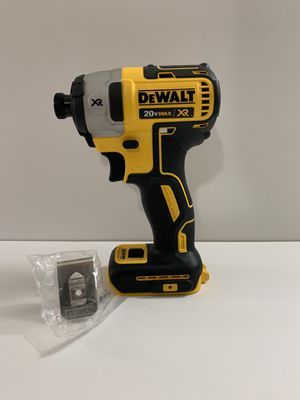 Dewalt impact drill XR brushless 3 speed (ONLY TOOL BRAND NEW)SOLO LA HERRAMIENTA for Sale in Dallas, TX