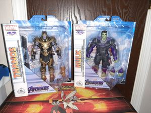 Marvel Select Thanos / Hulk Endgame Figure Disney Exclusive for Sale in Fort Wayne, IN