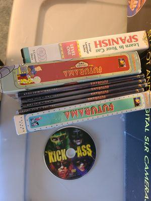DVD dvds Futurama volume 1 2 3 kick ass Spanish for Sale in Elk Grove, CA